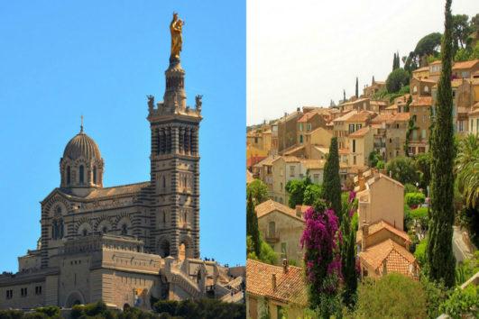 Excursión en Aix en Provence y Marsella panorámica - Tour privado
