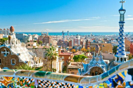 Excursión para cruceros Barcelona, Sagrada Familia y Park Güell